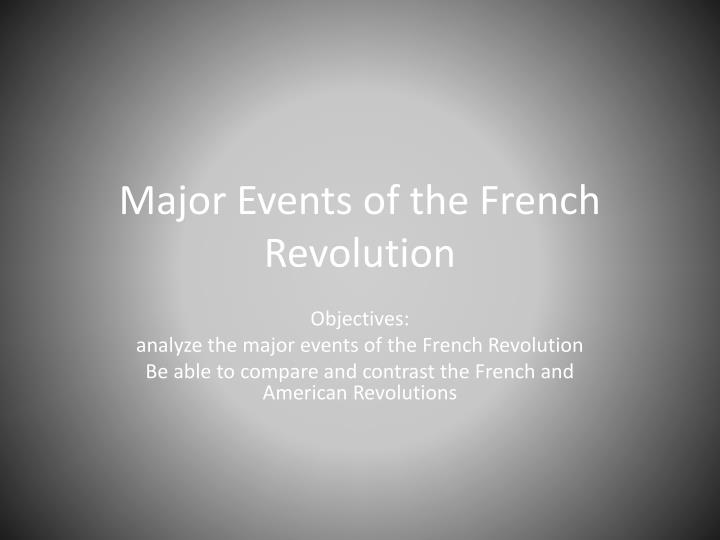 major events of the french revolution n.