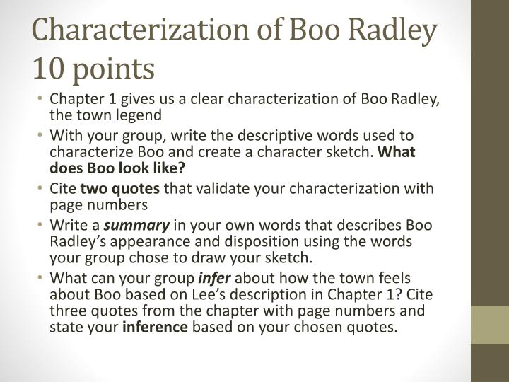 boo radley personality