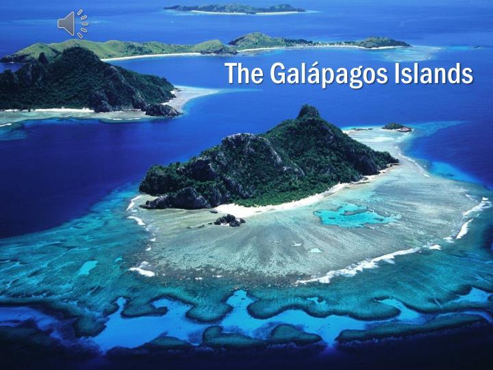 The gal pagos islands