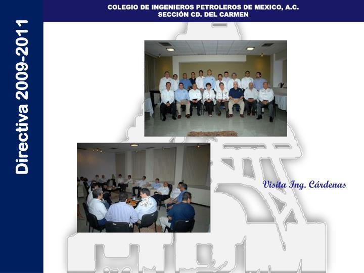 Visita Ing. Cárdenas
