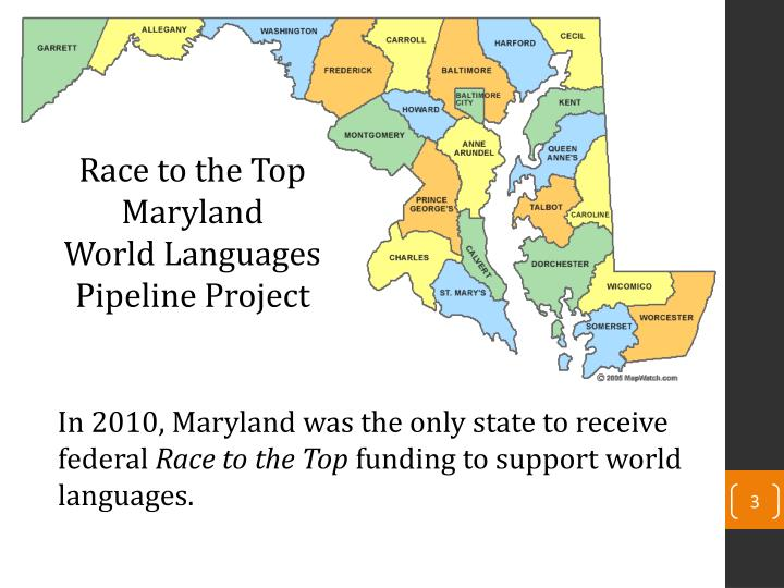 Race to the Top Maryland