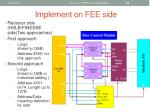 implement on fee side