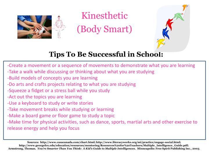 Kinesthetic body smart1