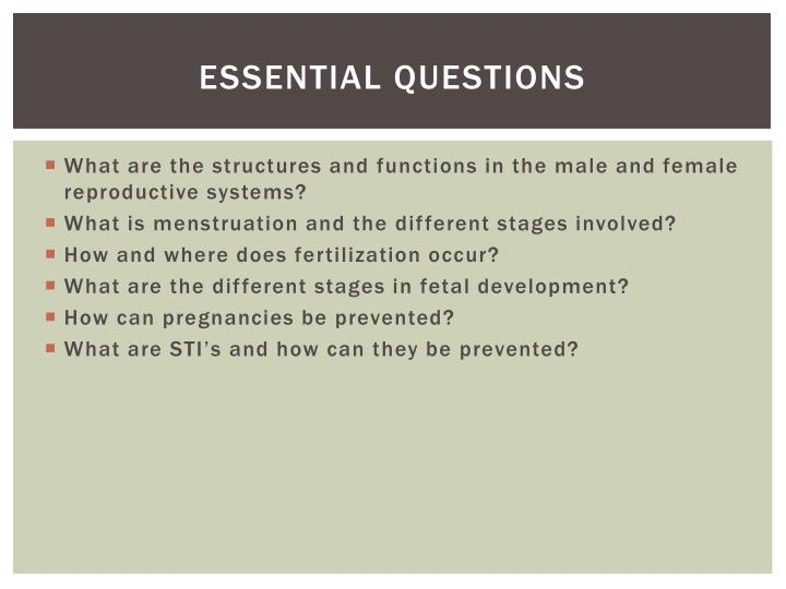 Ppt Unit 7 The Reproductive System Powerpoint Presentation Id