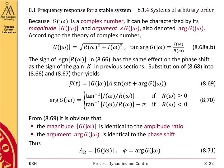 8.1.4 Systems of arbitrary order