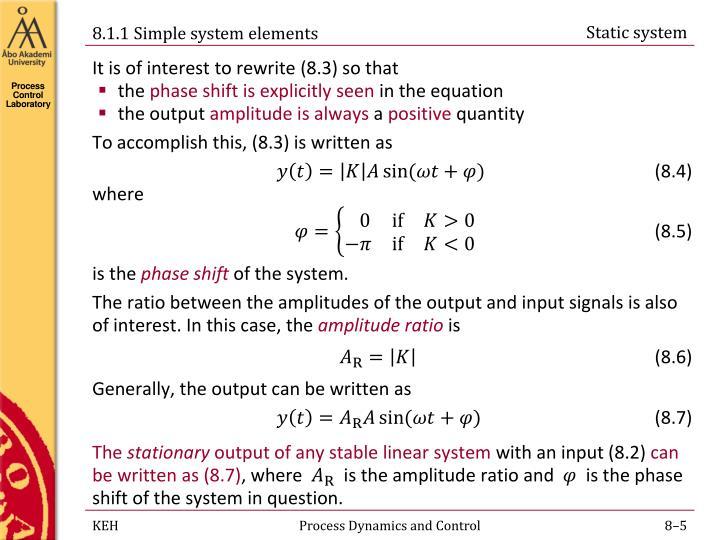 Static system