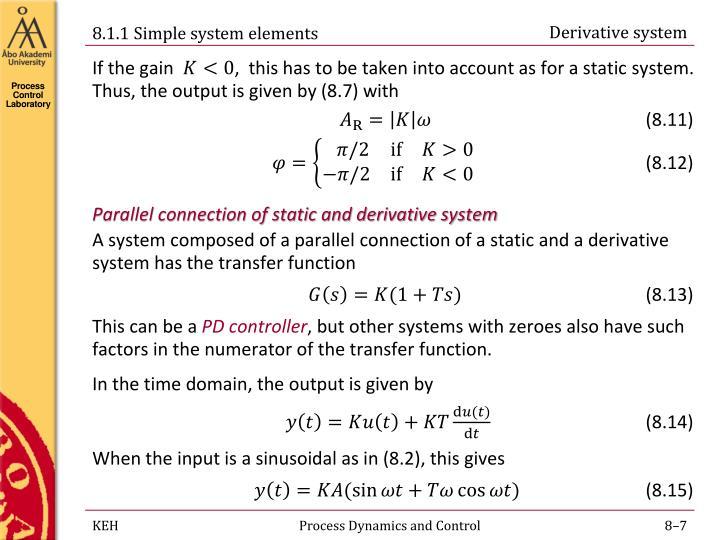 Derivative system