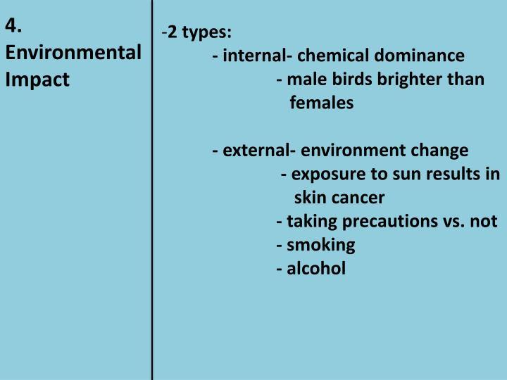 4. Environmental Impact