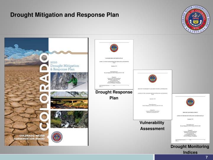 Drought Mitigation and Response Plan