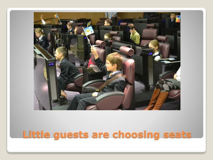 Little guests
