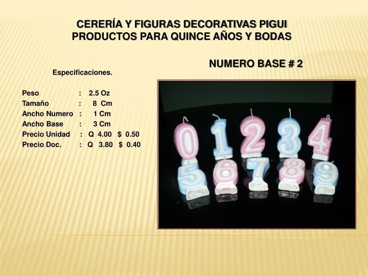 Cerer a y figuras decorativas pigui productos para quince a os y bodas