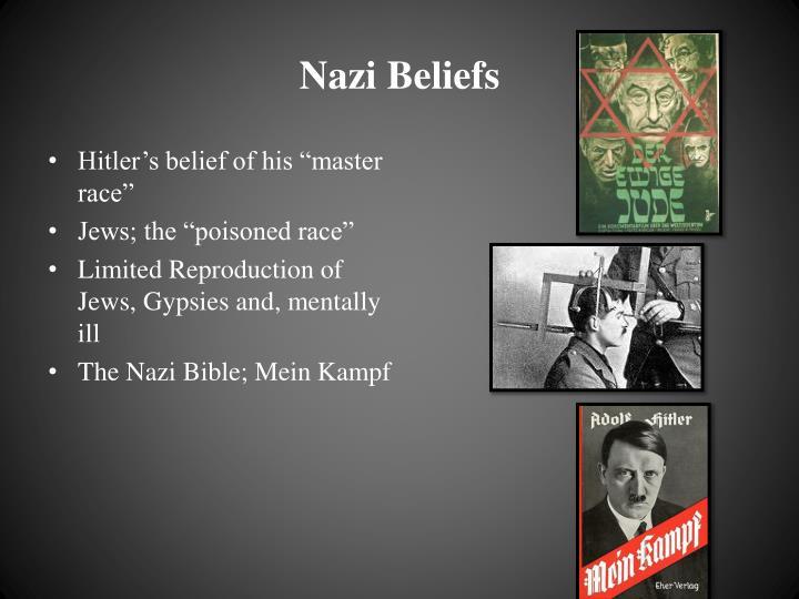 hitler propaganda thesis