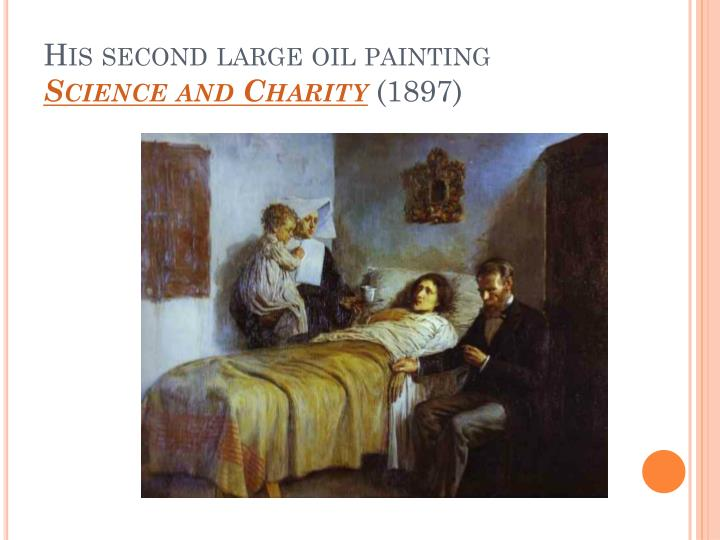 His second large oil painting