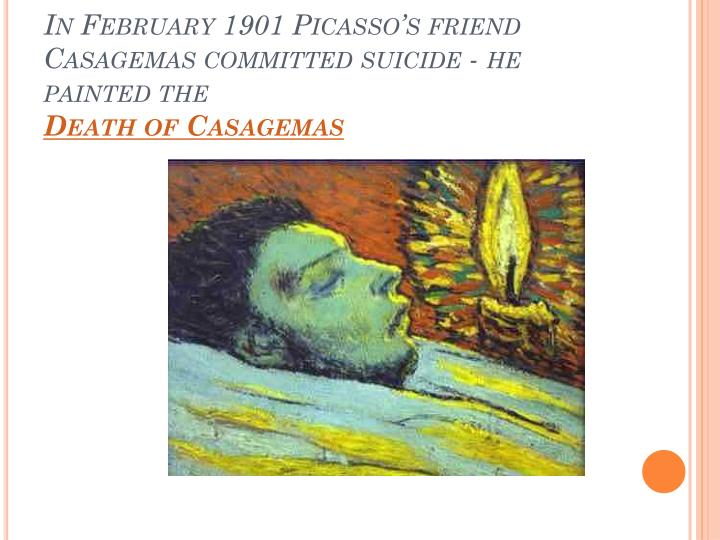 In February 1901 Picasso's friend