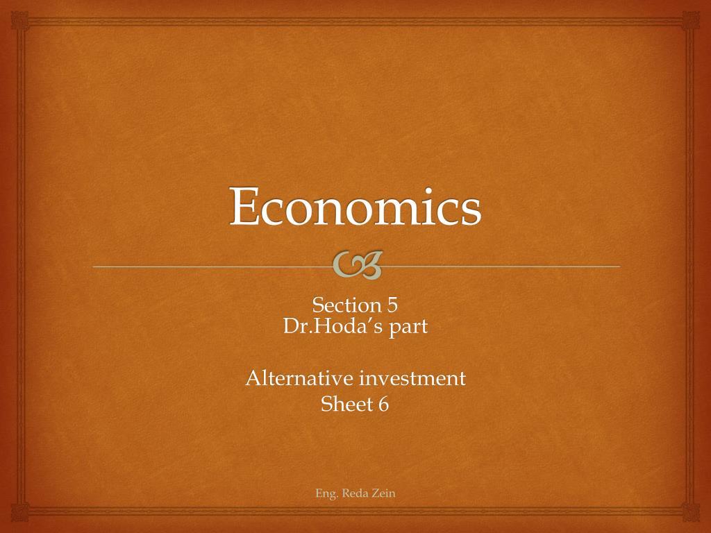 Economics investment sheet target green vest employees