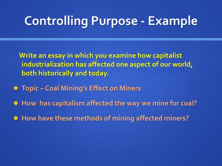 the effects of mining in the community i live in essay Technology has definitely changed the way we live our lives in a big way making everything much easier and faster it has turned the world into a global village and it is no i need an essay under topic, write an essay on any technology and its significant effect on lives, can some one help me.