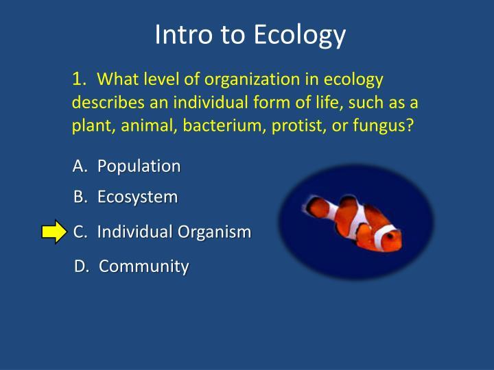 Intro to ecology1