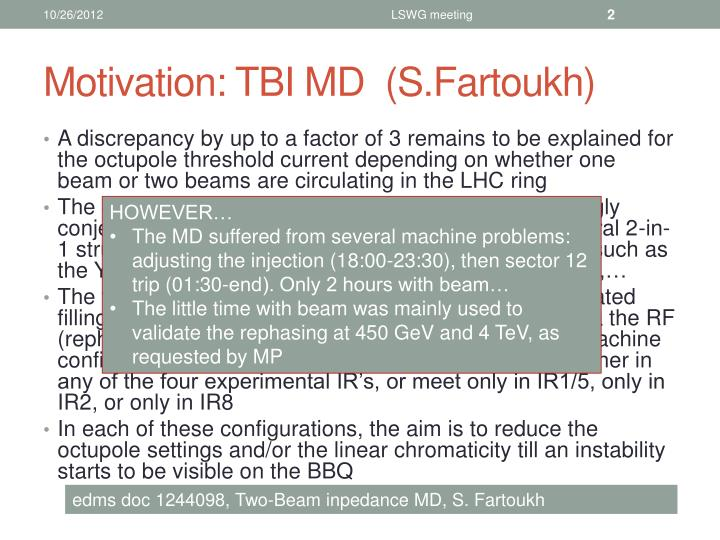 Motivation tbi md s fartoukh