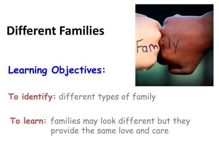 different families n.