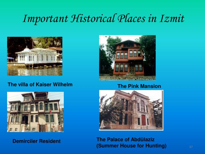 Important Historical Places in Izmit