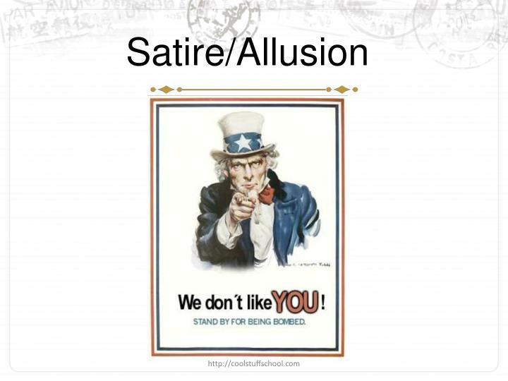 Satire/Allusion