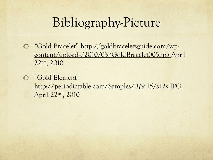 Bibliography-Picture