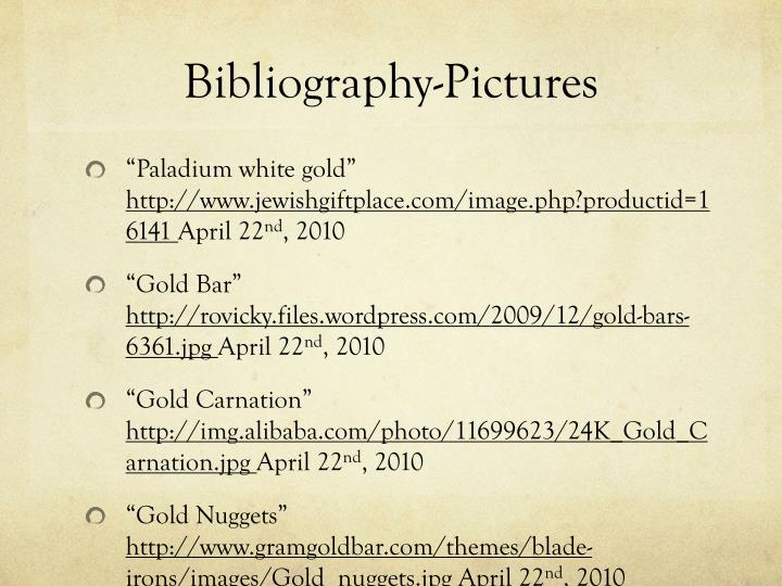 Bibliography-Pictures