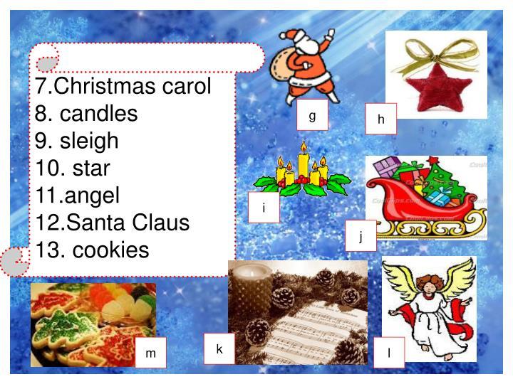 7.Christmas carol