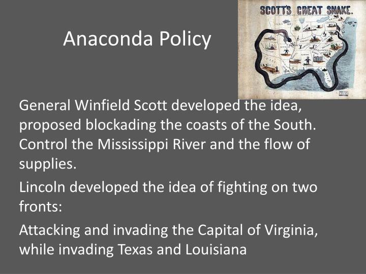 Anaconda Policy