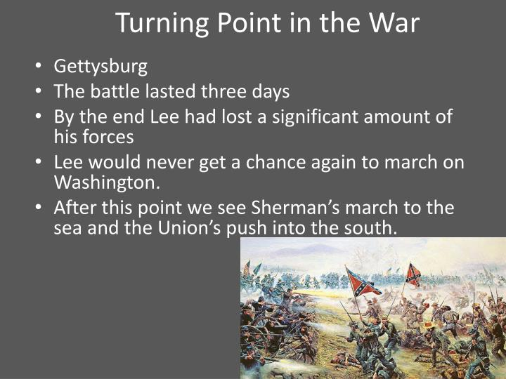 Turning Point in the War