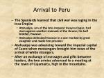 arrival to peru1