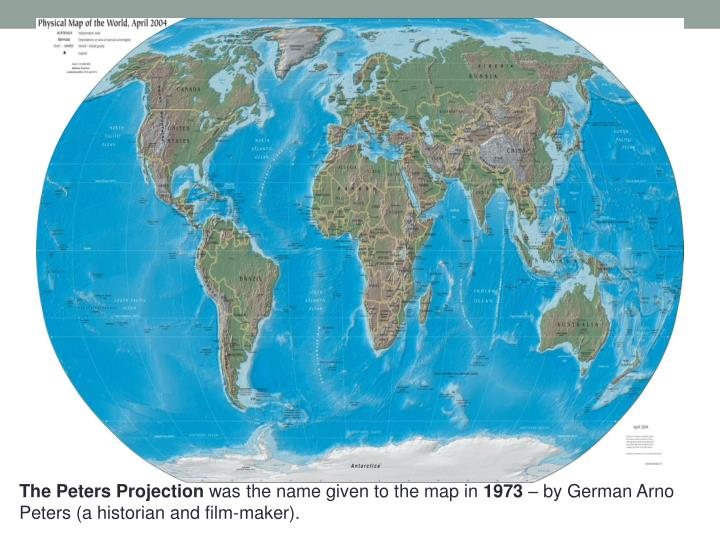 The Peters Projection