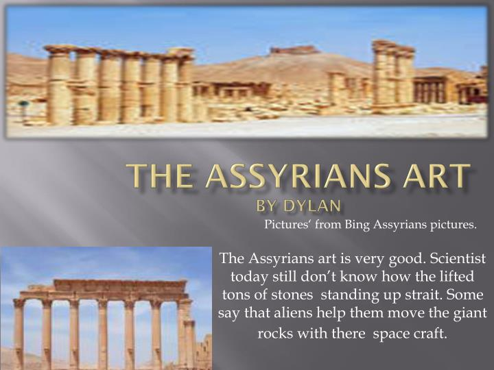 the assyrians art by dylan n.