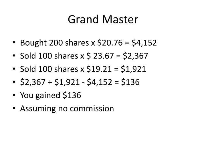 Grand Master