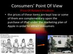 consumers point of view price of related products1