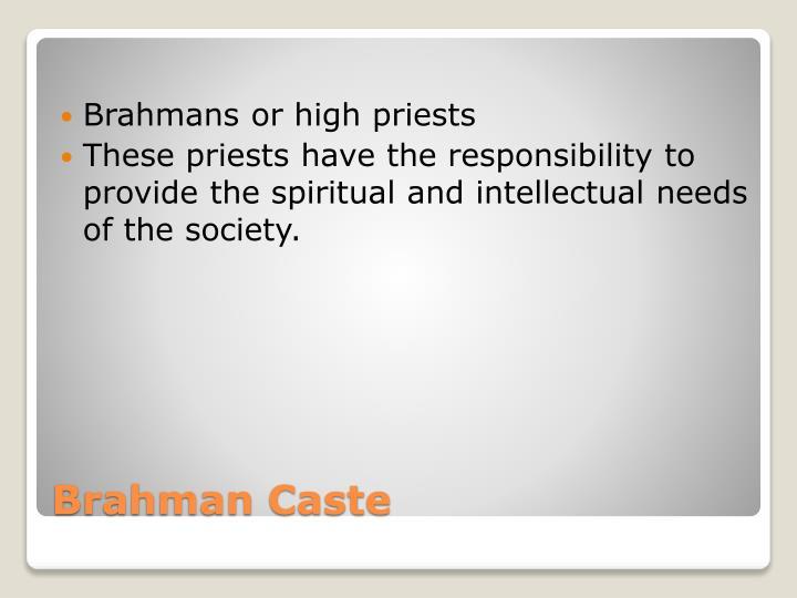 Brahman caste