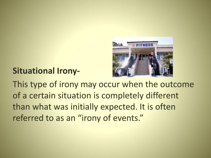 Situational Irony-
