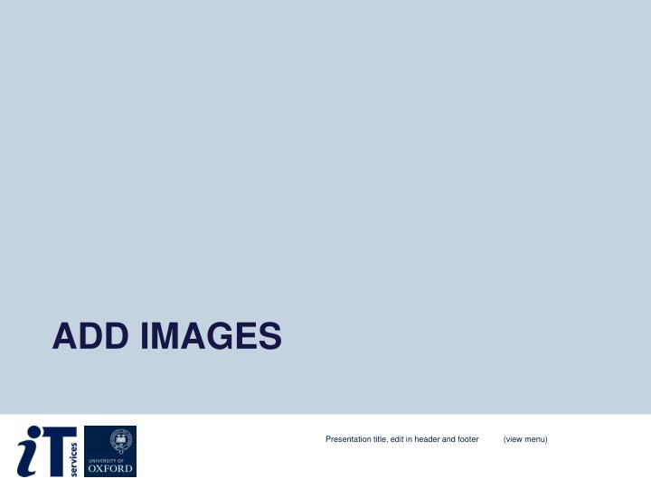 Add images