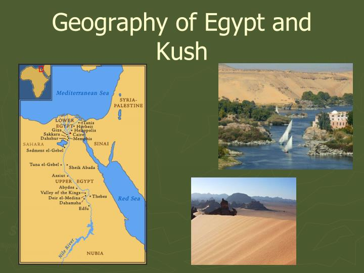 geography of egypt and kush n.
