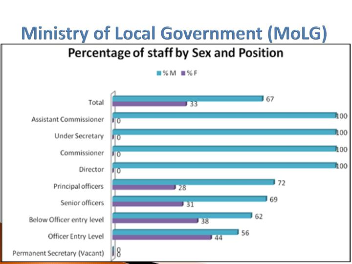 Ministry of Local Government (MoLG)