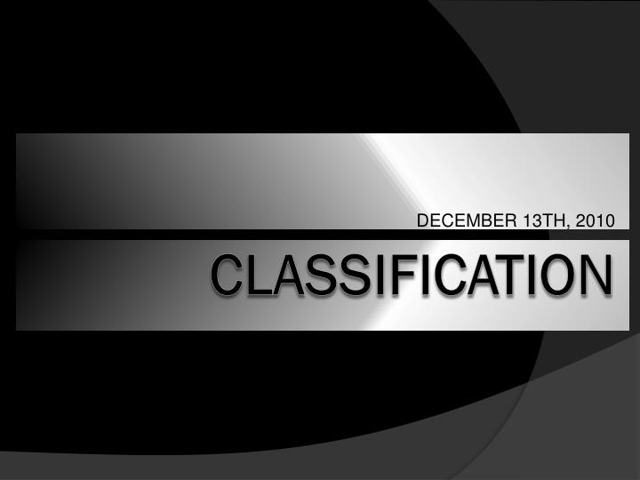December 13th 2010