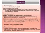 proposals regulations