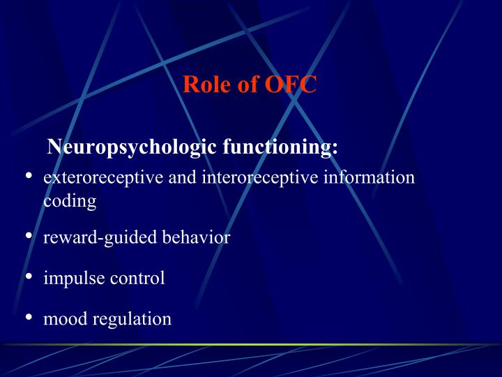 Role of ofc