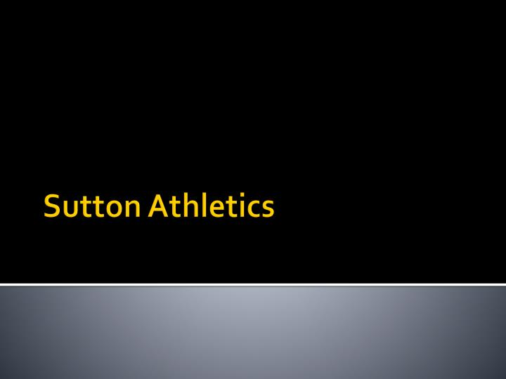 sutton athletics n.