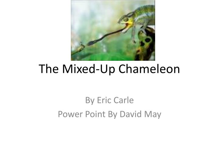 the mixed up chameleon n.
