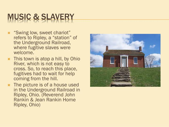 Music & Slavery