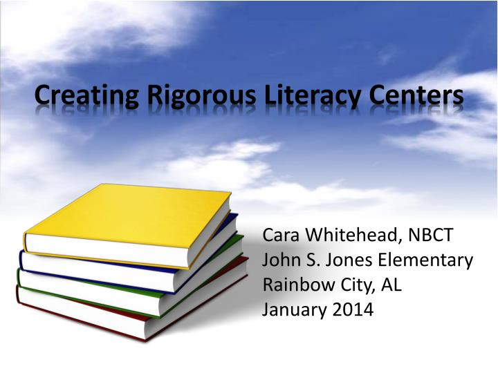 creating rigorous literacy centers n.