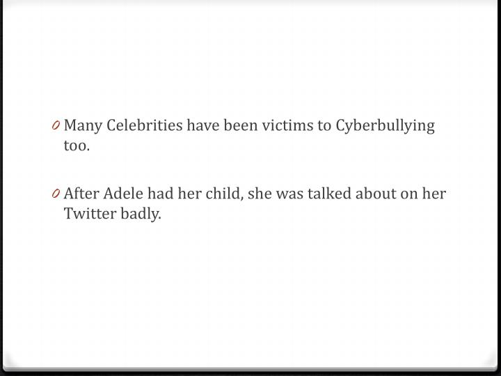 Many Celebrities have been victims to