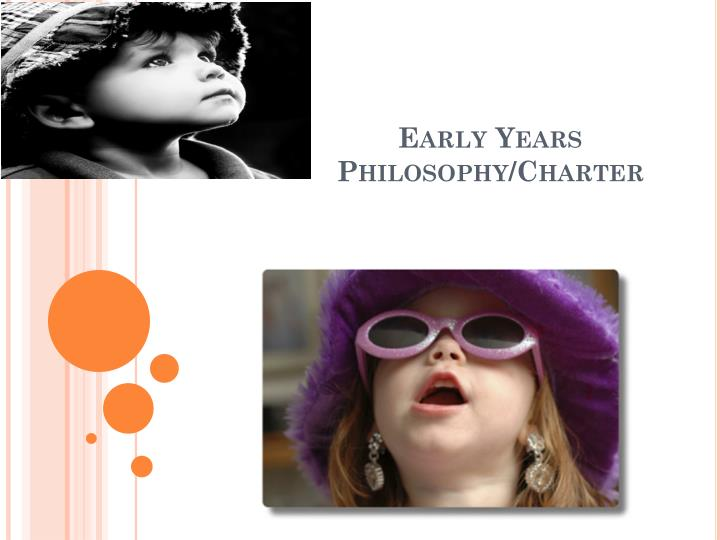Early years philosophy charter