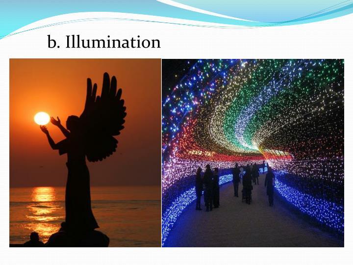 b. Illumination